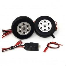 JP Hobby Electric Brake Set 50mm Wheel 4mm Axle