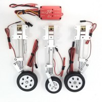 JP Hobby ER-008 Tricycle Full Set with Brakes (HSD Jets Super Viper 1.5m) + Sequencer