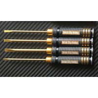 Tool - Flat Head Screw Drive Set 4PC
