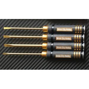 Tool - Flat Head Screw Drive Set 4PC
