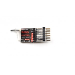 Radiolink R6DS 2.4G 6CH PPM PWM SBUS Output Receiver Compatible AT9 AT10 Transmitter