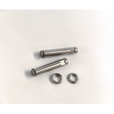 JP Hobby 6mm wheels axles (pair)