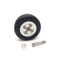 JP Hobby 40/13mm Aluminum wheel 4mm axle